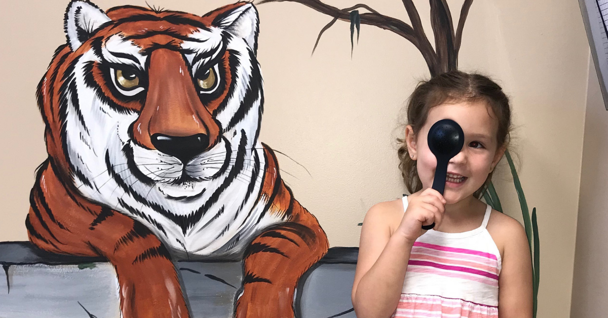pediatric eye exam - eye center huntsville