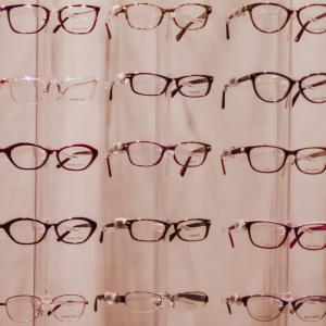 glasses selection at Olde Towne Optical Center at The Eye Center in Huntsville AL
