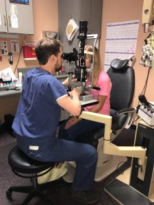 eye exam for LASIK